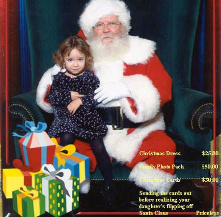 Funny Picture - Priceless Santa