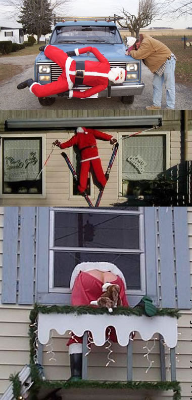 Funny Picture - Funny Christmas Decorations