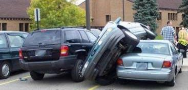 Funny Picture - Bad Parking