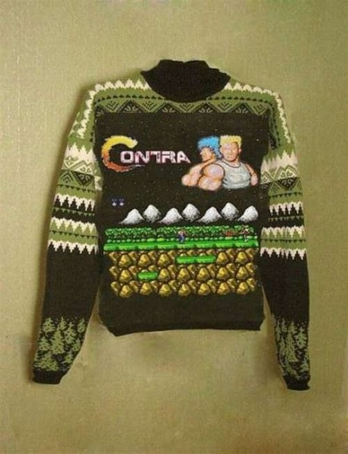 Funny Picture - Contra Sweater