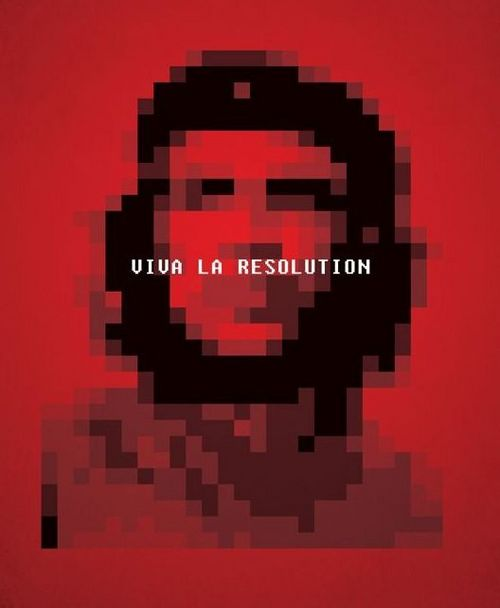 Funny Picture - Viva La Resolution