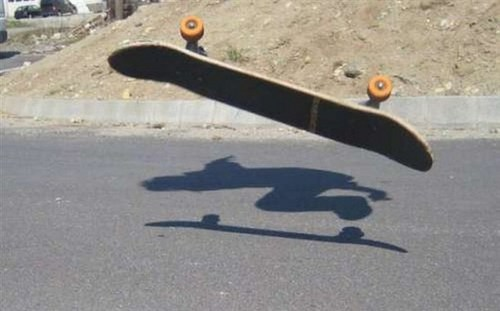 Funny Picture - Ghost Ride The Board
