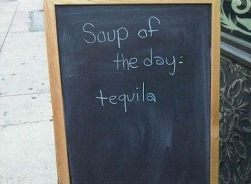 Funny Picture - Soup Of The Day