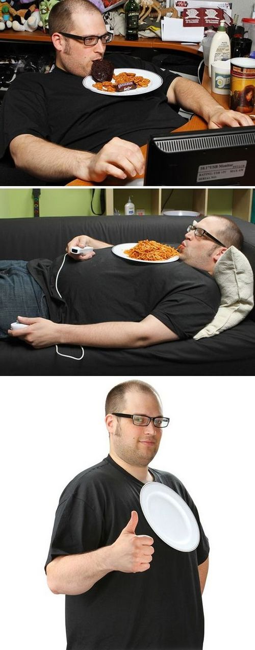Funny Picture - Couch Potato Shirt
